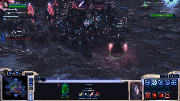 Alarak in StarCraft II's co-op mode