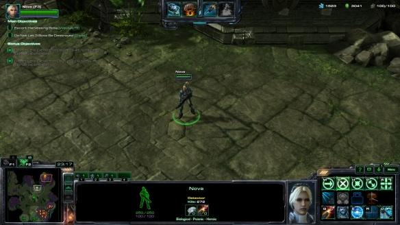 Co-op commander Nova in StarCraft II