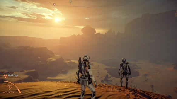 The deserts of Eos in Mass Effect: Andromeda