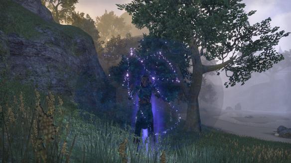 Teleporting via wayshrine in Elder Scrolls Online