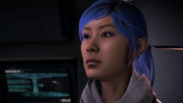 My character in Mass Effect: Andromeda