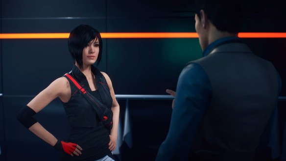 Faith Connors in Mirror's Edge Catalyst