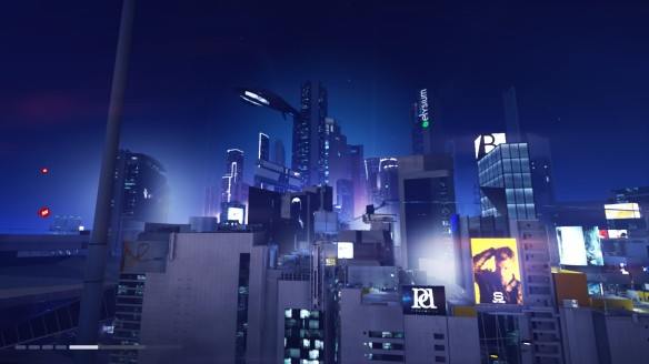 The city of Glass in Mirror's Edge Catalyst