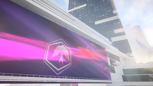A billboard hack in Mirror's Edge Catalyst