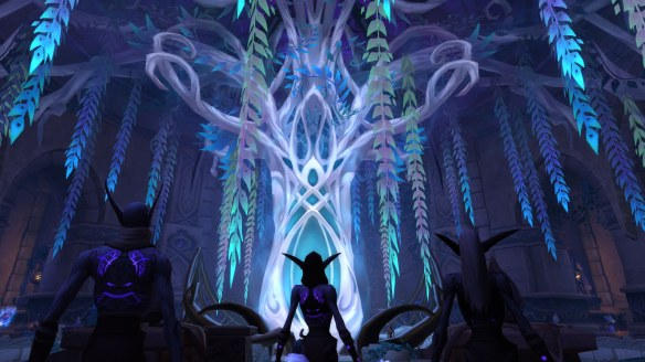 The Arcan'dor within Shal'aran in World of Warcraft: Legion
