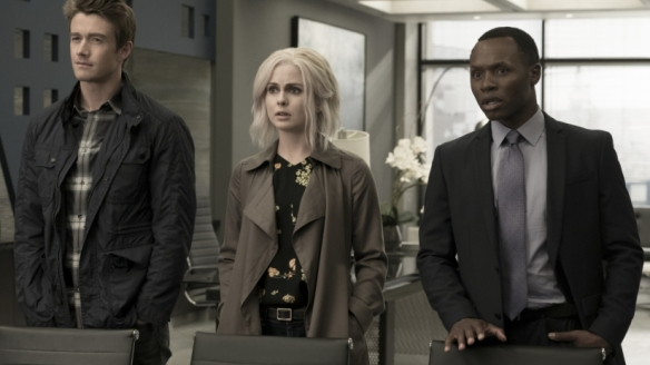 Major, Liv, and Clive in iZombie season three