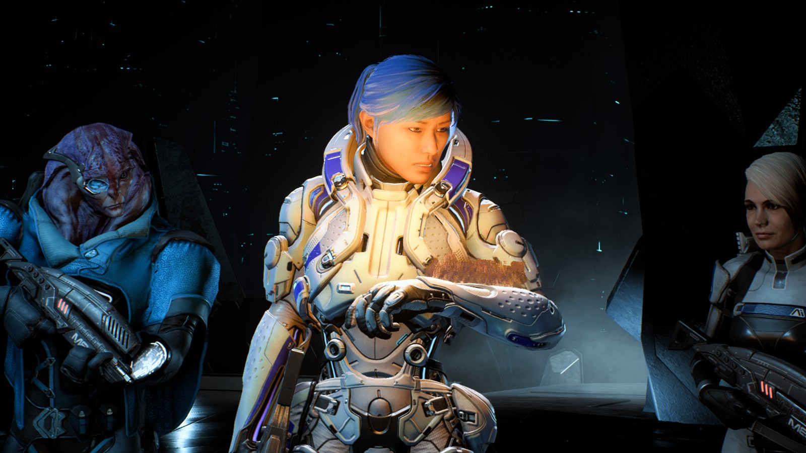 mass effect andromeda how to choose team