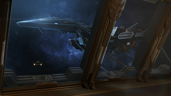 The starship Griffin in StarCraft II's Covert Ops DLC