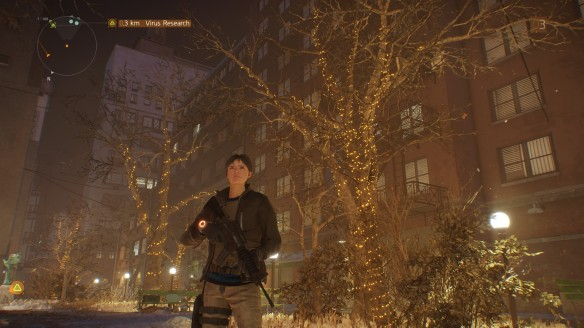 My character in The Division
