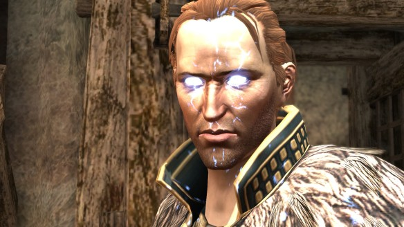 Anders unleashes Justice in Dragon Age II