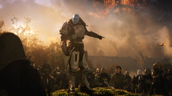 A shot from Destiny 2's cinematic trailer