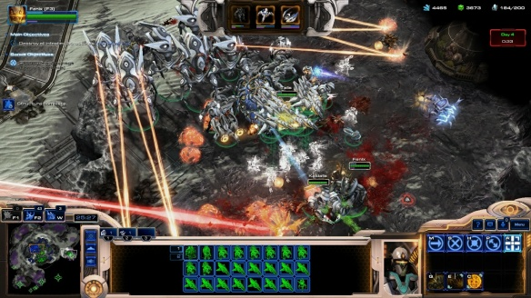 The army of Fenix in StarCraft II co-op