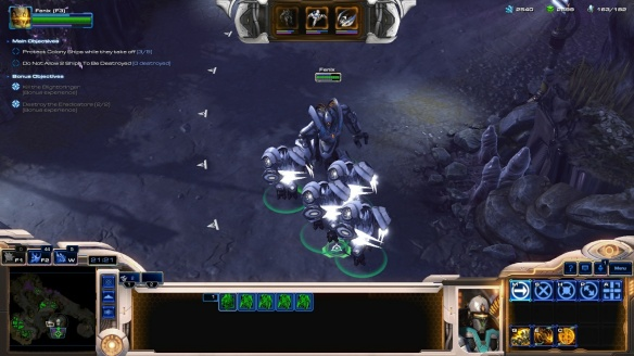 Fenix's Praetor suit in StarCraft II co-op