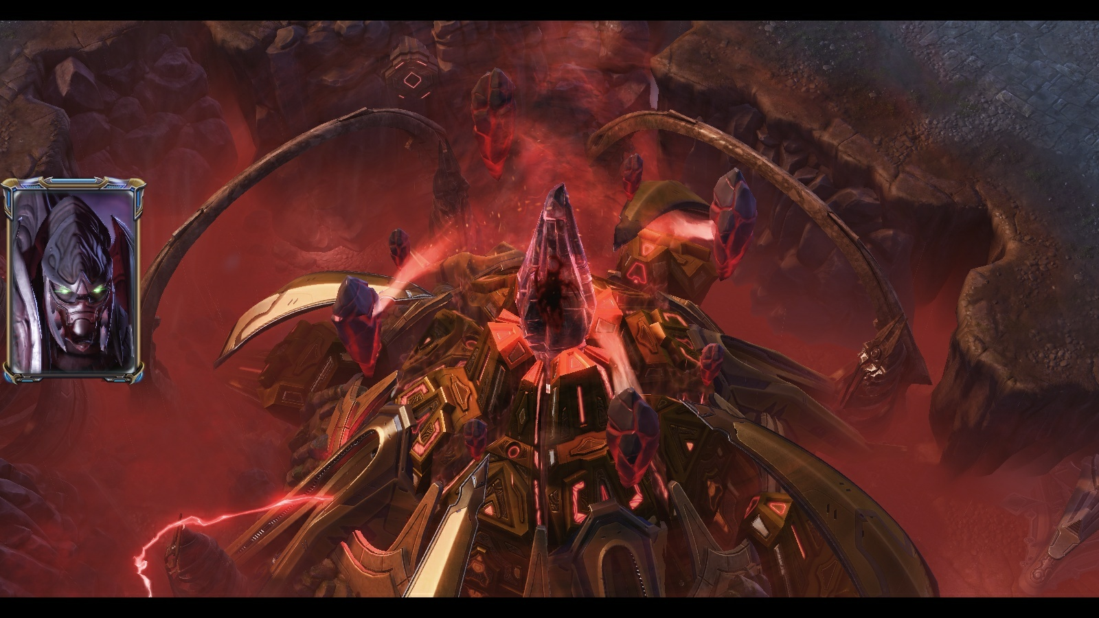 The new Scythe of Amon map in StarCraft II co-op