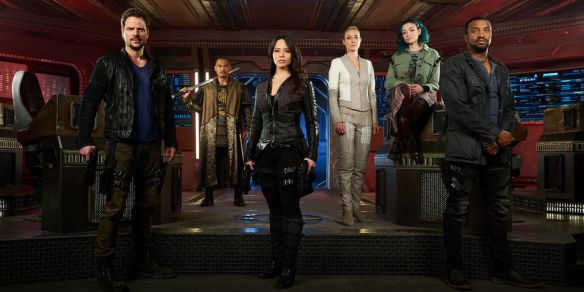 The cast of Dark Matter
