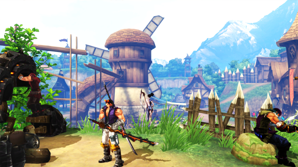 A town in Kritika Online