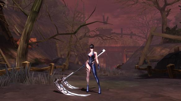 My reaper in Kritika Online