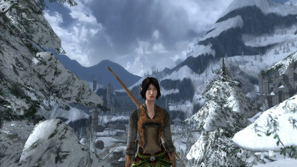 MY Elven hunter in Lord of the Rings Online