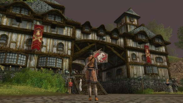 The Inn of the Prancing Pony in Lord of the Rings Online