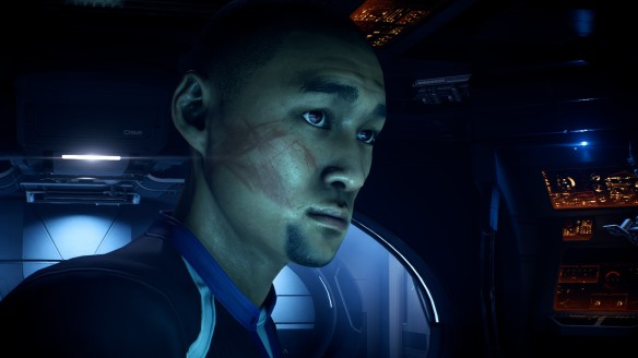 Scott Ryder in Mass Effect: Andromeda