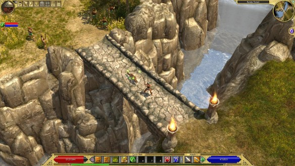 A screenshot from the RPG Titan Quest