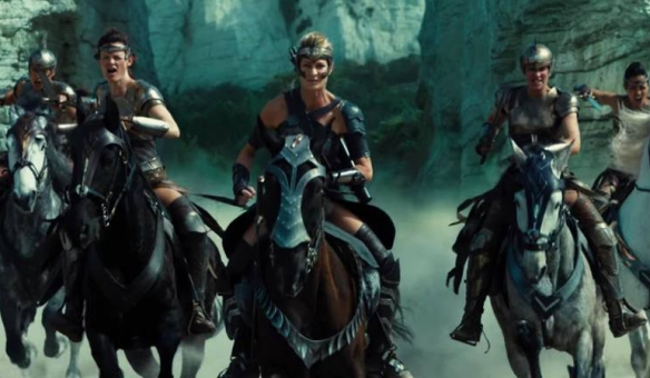 The Amazons in Wonder Woman