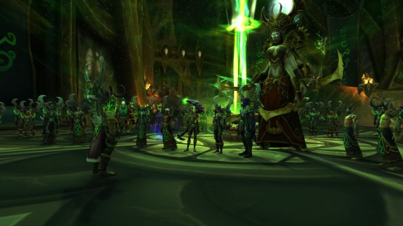 The conclusion of the demon hunter class campaign in World of Warcraft