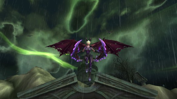 My demon hunter in World of Warcraft
