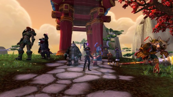 Completing the monk class campaign in World of Warcraft