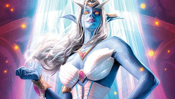 Queen Azshara at her height of power