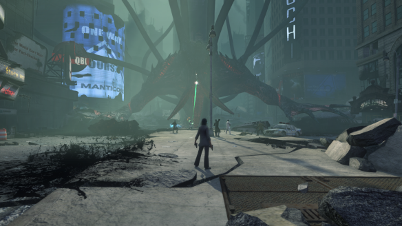 A brief encounter with the Unutterable Lurker in the tutorial of Secret World Legends