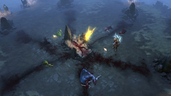 The new Shrouded Moors zone in Diablo III