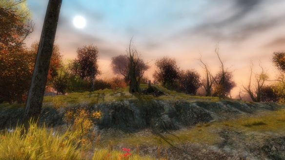 The Iron Marches zone in Guild Wars 2