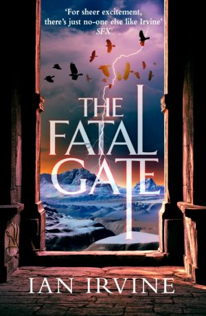 Cover art for The Gates of Good and Evil, book two: The Fatal Gate