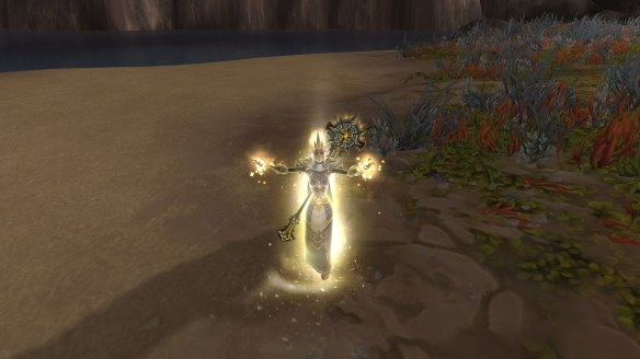 The gorgeous new priest casting animations in World of Warcraft