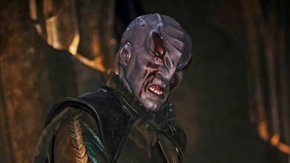 A Klingon in Star Trek: Discovery