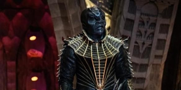 The Klingon T'Kuvma in Star Trek: Discovery