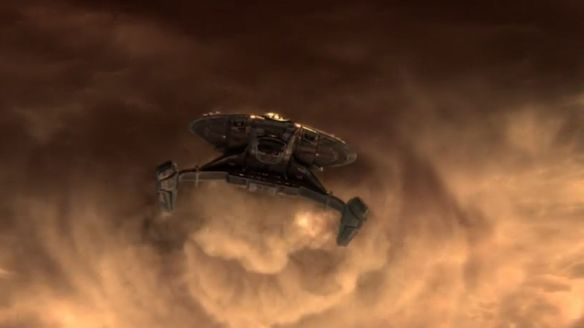 The starship Shenzhou in Star Trek: Discovery