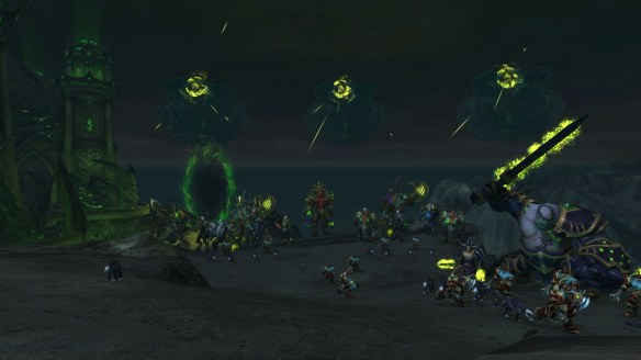 The armies of the Legion in World of Warcraft