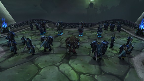 The death knight class story in World of Warcraft