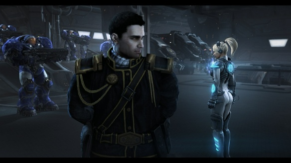 Matt Horner and Nova in StarCraft II