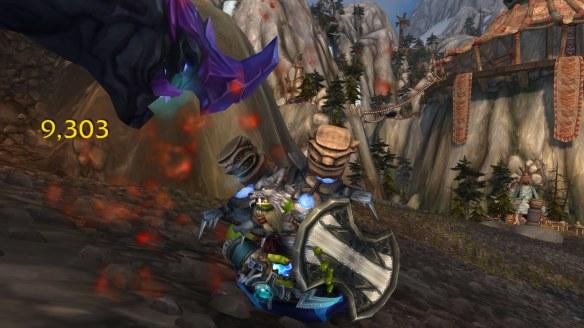 My Orc shaman in World of Warcraft: Legion