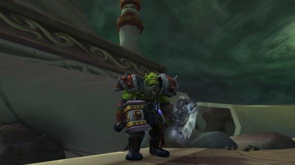 My shaman in World of Warcraft: Legion