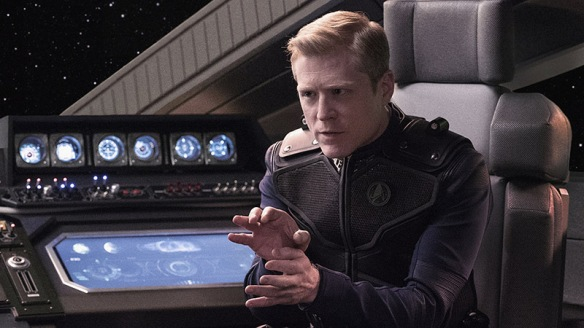 Anthony Rapp as Lieutenant Paul Stamets on Star Trek: Discovery