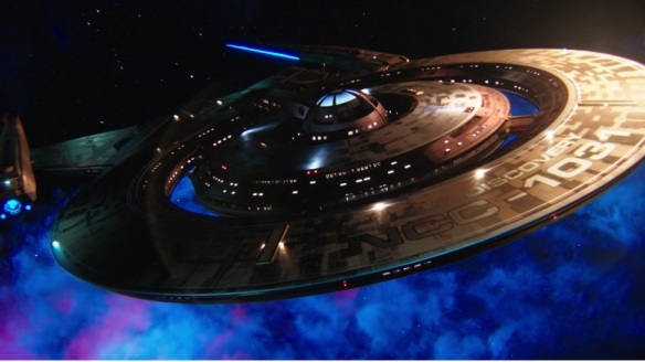 The titular ship in Star Trek: Discovery
