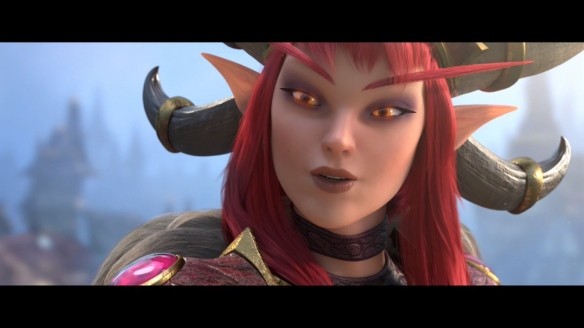 Alexstrasza the Dragon Queen in a Heroes of the Storm cinematic