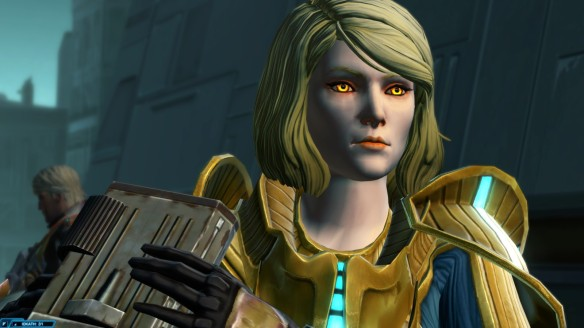 Lana Beniko in Star Wars: The Old Republic's War for Iokath story