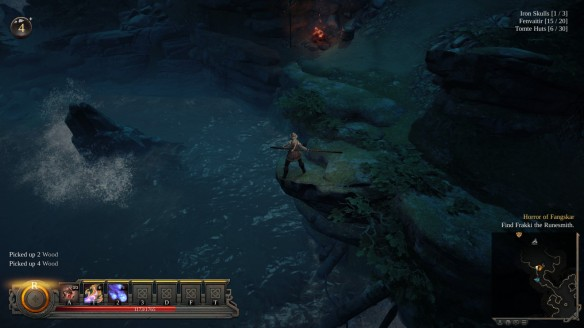 A rare moment of quiet in Vikings: Wolves of Midgard