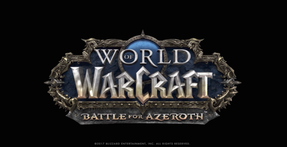 The official logo for World of Warcraft: Battle for Azeroth