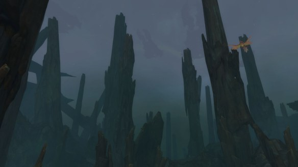 The Petrified Forest on Argus in World of Warcraft